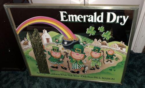 EMERALD DRY WINE ADVERTISING MIRROR a.