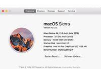 Stunning iMac 21.5 inch 4K retina display high spec still get 8 months warranty