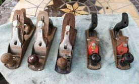 5 Wood Planes