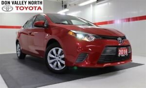 2016 Toyota Corolla LE Btooth BU Camera Heated Seats Pwr Wndws M