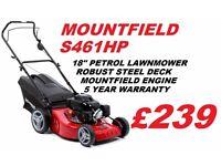"""*NEW* Mountfield S461HP Great Value 18"""" Cut Lawnmower"""