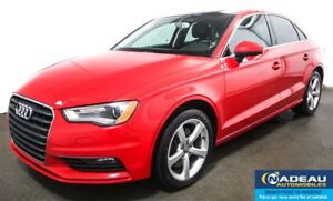2015 Audi A3 AWD 2.0T Komfort QUATTRO  TOIT OUVRANT  MAGS 17