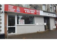 TO LET - Takeaway and Restuarant