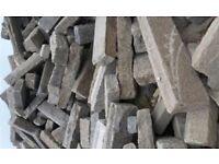 Granite kerbs, stone setts for borders, gardens, beds, driveways