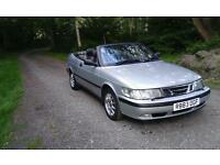 Saab convertible 93 2 litre automatic