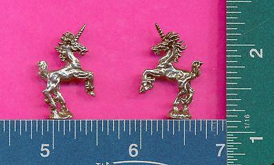 100 wholesale lead free pewter unicorn figurines m11108