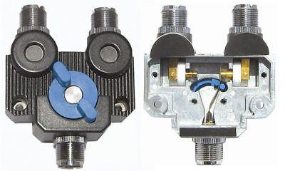 MFJ-2702 2-Position Antenna Switch with SO-239 Connectors for Up To 1GHz Mfj Antenna Switch
