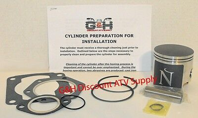 1985-2006 Polaris 250 Top End Rebuild Kit Cylinder Machining Service 2x4 4x4 ATV