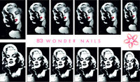 Wondernails 83 Eu Made Water Decals Nail Stickers Tattoo Marilyn Monroe - wonder nails - ebay.co.uk