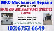 MKC Mechanical Repairs - pink & blue slips Moree Moree Plains Preview