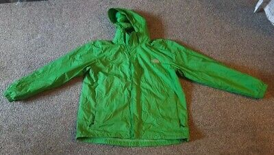 MENS THE NORTH FACE GREEN SHELL WIND BREAKER JACKET SIZE LARGE USED