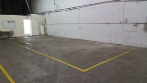 Rent 600 sqft of warehouse space for 3, 6 or 12 month