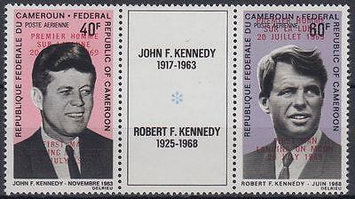 Kamerun Cameroun 1969 ** Mi.594/95 I Weltraum Space Espace John F. Kennedy JFK