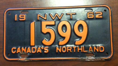 1962 Northwest Territories, CANADA (1599) NWT