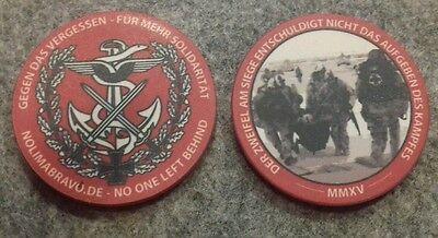 Coin NO LIMA BRAVO Veteran selten rar BW KSK ISAF KFOR AFG