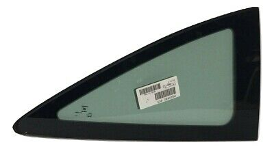 Fit 2006-2011 Honda Civic 2Door Coupe Driver Side Rear Left Quarter Window Glass