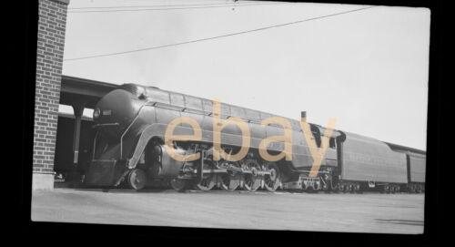 Norfolk & Western N&W 4-8-4 Class J  #607 - B&W Negative