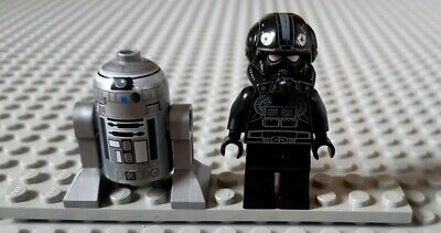 Lego Star Wars minifigures - V-Wing Pilot with Astromech R2-Q2