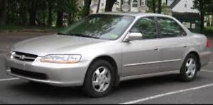 Honda Accord 2000, Etested!