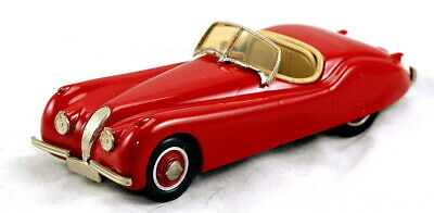 Rare 1/43 scale Western Models WMS 6 1949 Jaguar XK120 roadster red MIB