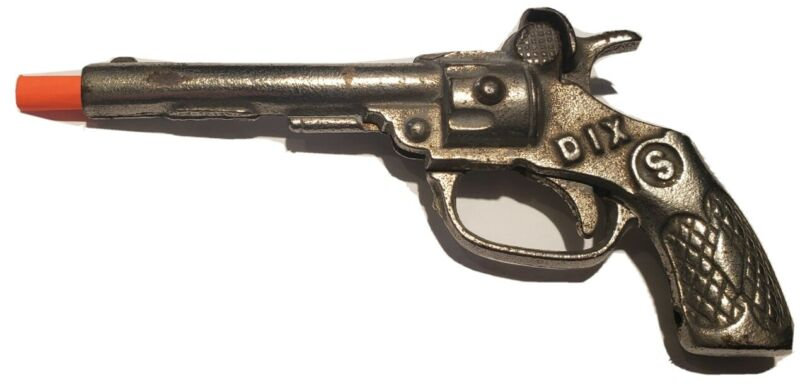 Vintage Antique Kenton SW DIX Cast Iron Metal Toy Cap Gun