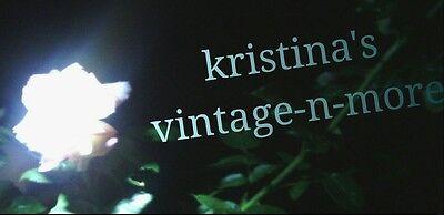 Kristina's Vintage-N-More