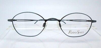 Retro Specs GO51 49-20 Womens Glasses Eyeglasses Blue Optical (Go Optic Glasses)