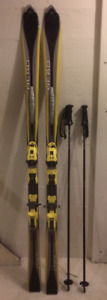 Head Cyber X-60 skis for advanced aggressive adult skier