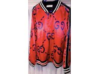 Mens Gucci Ghost Bomber Jacket Brand New With Tags (Moncler, Fendi, Stone Island)
