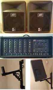 Amplificateur Peavey XR-600C, 2 speakers Peavey PR12, 2 supports Québec City Québec image 1