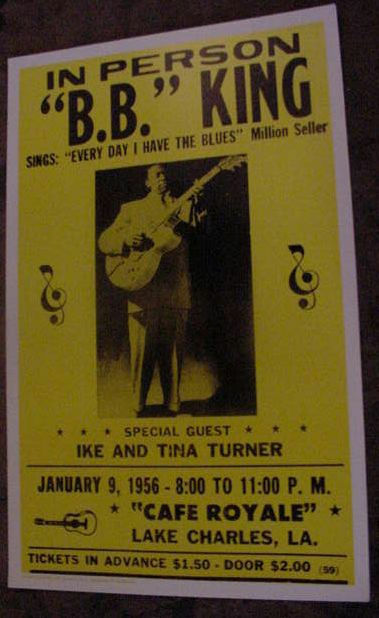 BB B.B. KING VINTAGE 1956 1950