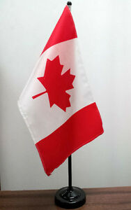 Canada Table Flags (2)