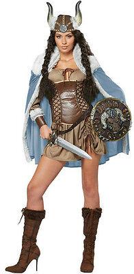 Viking Vixen Sexy Adult Costume Medium 8-10 - Viking Vixen