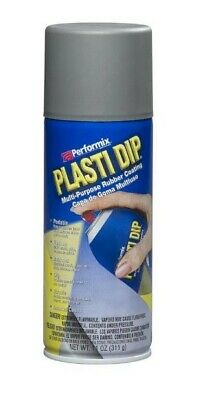 Plasti Dip Gray Matte Liquid Wrap Removable Rubber Coating Aerosol Can - 11oz