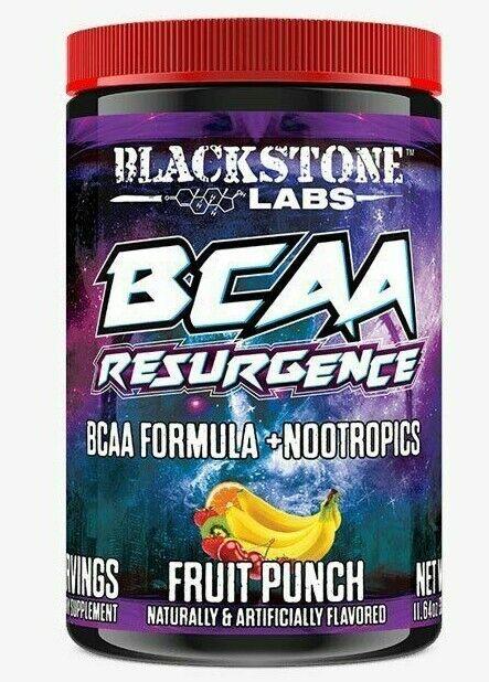 Blackstone Labs RESURGENCE BCAA +Nootropics 30 Servings +FREE SHAKER & SAMPLES