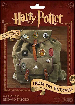 Harry Potter Set Of 14 Different Iron On Patches New Unused Sealed