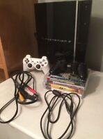 160 GB Playstation 3 console, great condition