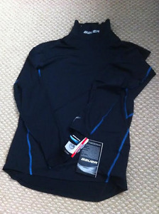 Bauer Neckprotect Long Sleeve Top