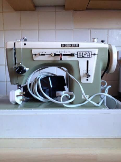 Hobkirk Alpha Sewing Machine In Good Working Order With All Simple Hobkirk Sewing Machines