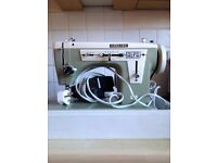 Hobkirk Alpha sewing machine in good working order with all accessories and case