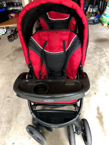 Baby Trend Sit N' Stand stroller (two seats) - Like new