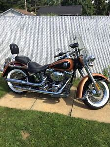 Softail Deluxe 105th anniversaire 2008
