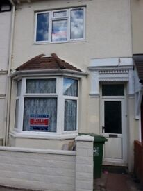 A Three Bedroom Terraced Family Home Available £860 pcm. DG, 2 receptions, Kitchen, downstairs WC