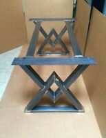 Custom fabricated table bases