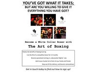 BOXERS NEEDED FOR WHITE COLLAR BOXING EVENT