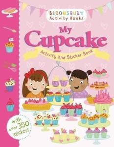 My Cupcake Activity And Sticker Book BOOK NEU
