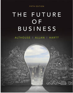 Textbook - The Future of Business, 5th Edition