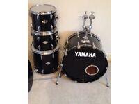 Yamaha Beech Custom drum kit - 22,12,13,16 shell pack