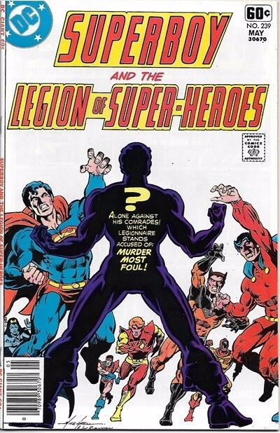 Superboy Comic Book #239 DC Comics 1978 NEAR MINT