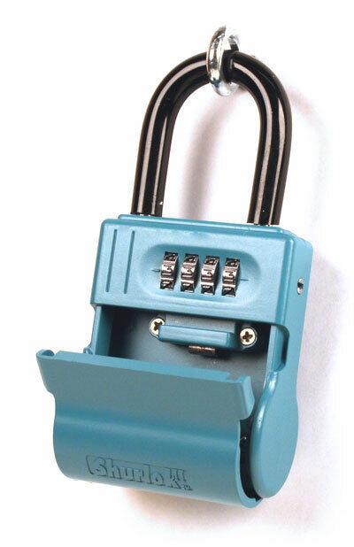 ShurLok SL-600W 4 Dial Numbered Key Storage Combination Lock